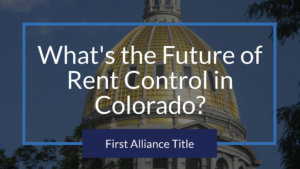 What's the Future of Rent Control in Colorado