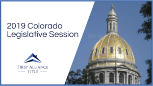 2019 Colorado Legislative Session