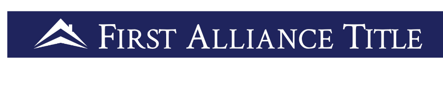 First Alliance Title Logo