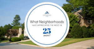 Neighborhood Appreciation for 25 years