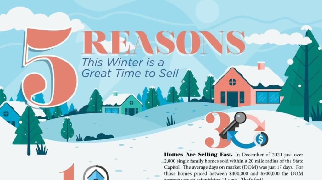 five reasons this winter is a great time to sell