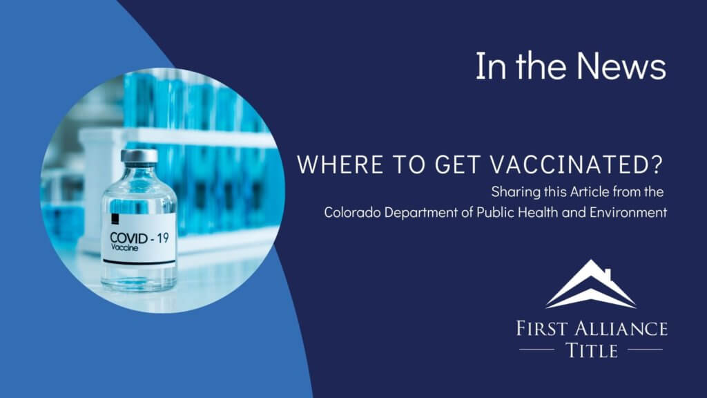 Where to Get Vaccinated